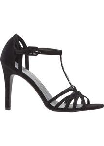 Sandalette veredelt mit Swarovski® Kristallen