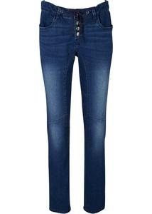 Stretch-Jeans mit elastischem Bündchen, SLIM