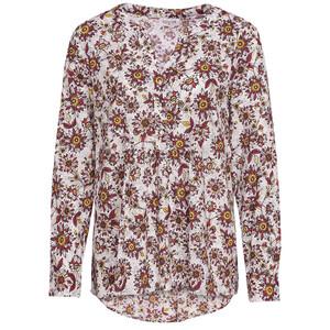Damen Bluse mit Blumen-Allover