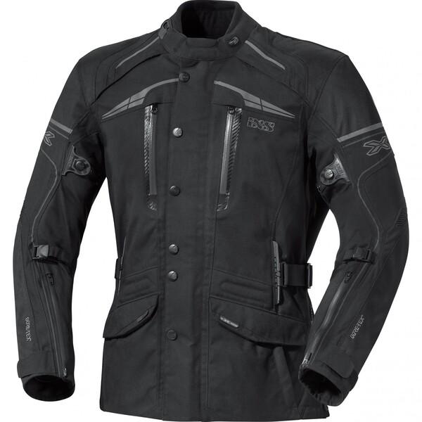 IXS X-Motorradjacke Montgomery schwarz Herren Größe M