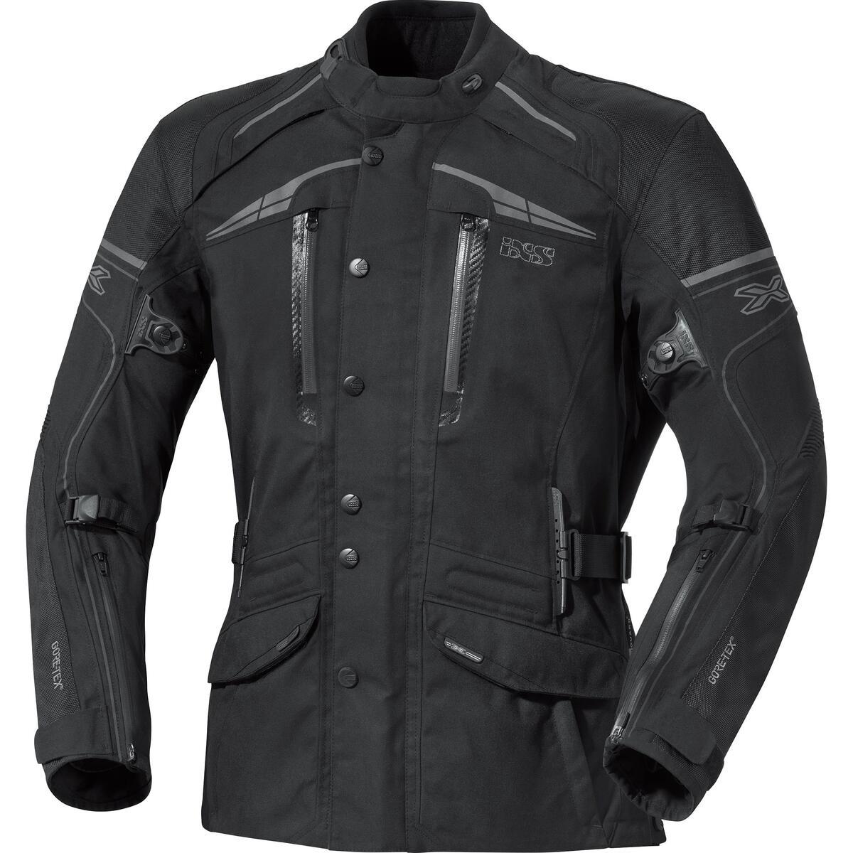 Bild 2 von IXS X-Motorradjacke Montgomery schwarz Herren Größe M