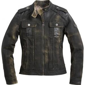 Spirit Motors Klassik Textil Damen Jacke 1.0 schwarz Damen Größe S