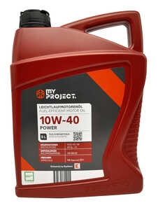 MY PROJECT®  Motorenöl 10W40