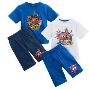 Jungen-Shorty-Pyjama »Super Wings«