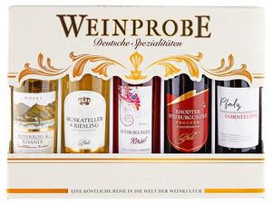 Wein Beginner Paket (Weinprobe 5x 0,25l deutscher Spezialitäten)