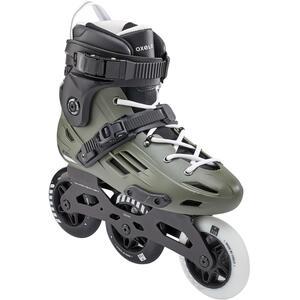 Inline-Skates Inliner Freeskate MF900 HardBoot Erwachsene khaki