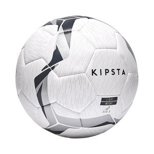 Fußball F500 Hybrid Light Größe 5 weiß/schwarz