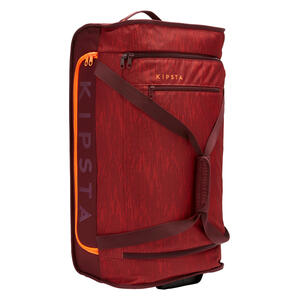 Sporttasche Trolley Essential 70 Liter bordeaux