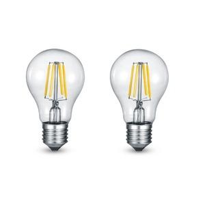LED Birne, klar E27/ 6Watt/ Energie A+