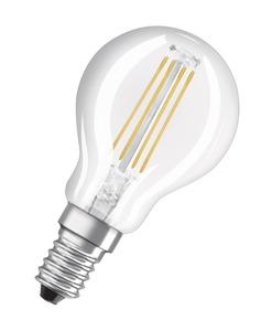 Osram LED-Birne, klar E14/ 4Watt/ Energie A++
