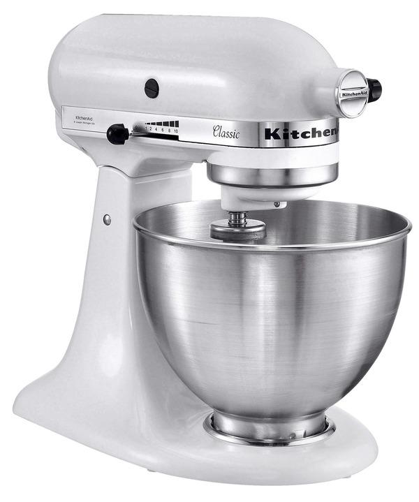 Kitchenaid Küchenmaschine Classic 5K45SSEWH Weiß