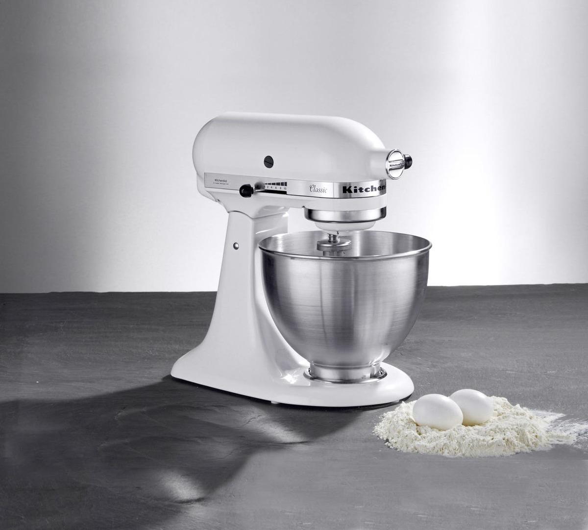 Bild 5 von Kitchenaid Küchenmaschine Classic 5K45SSEWH Weiß