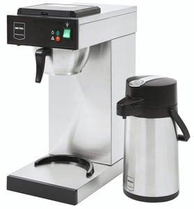 METRO Professional Kaffemaschine GCA2001, 2,3 l Wassertank, mit 2 l Pumpkanne