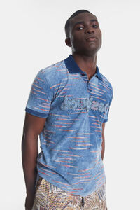 Polo-T-Shirt aus Jacquard mit Logo