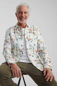 Hemd mit Surf-Print