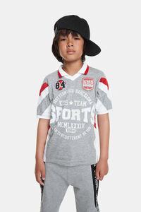 Sportliches Polo-Shirt im Baseball-Style