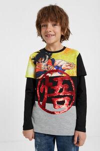 "Shirt mit Pailletten ""Dragon Ball"""