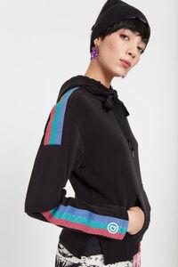 Sweater mit Lurex-Streifen