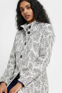 Mantel Baumwolle weiß
