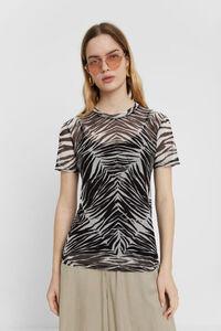 Transparentes Zebra-Shirt