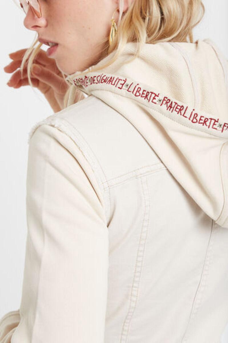 Bild 4 von Blumige Jeansjacke
