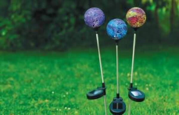 Garden Dream Solar-Mosaik-Gartenstecker