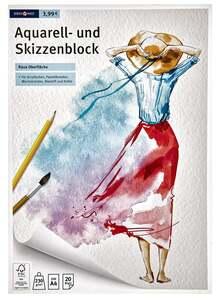 IDEENWELT Aquarell- & Skizzenblock