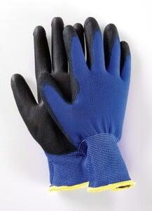 Powertec Garden Multifunktions Handschuhe, Blau, Größe 8 - 5er Set
