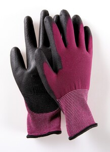 Powertec Garden Multifunktions Handschuhe, Rot, Größe 7 - 5er Set