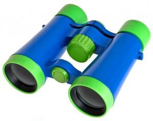 Bresser® Kinderfernglas 4x30 grün/blau