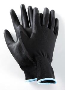 Powertec Garden Multifunktions Handschuhe, Schwarz, Größe 8 - 5er Set