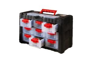 Kraft Werkzeuge 9-Schub-Koffer