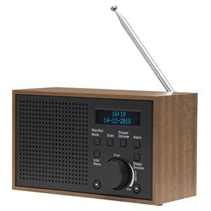 Denver DAB+/FM-Radio im Holzgehäuse