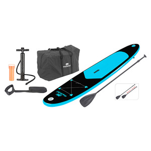 SUP-Board 285 Black Waikiki