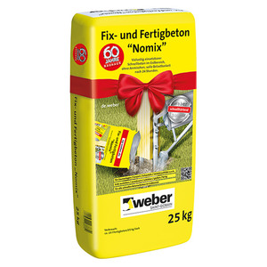 SG Weber Trocken-Fertigbeton Fix- und Fertig Nomix
