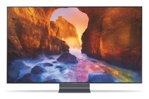 Samsung GQ65Q90R QLED-TV (Smart TV, 4K, HDR, USB-Aufnahme, Sprachsteuerung)