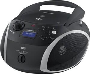 Grundig GRB 4000 BT DAB+ Boombox schwarz/silber (CD-Player, DAB+, Bluetooth, MP3, WMA-Musikwiedergabe)