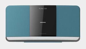 Grundig Kompaktanlage WMS 3000 BT DAB+ blau (CD/MP3, DAB+, Bluetooth, USB)