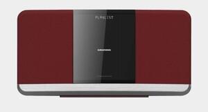 Grundig Kompaktanlage WMS 3000 BT DAB+ rot (CD/MP3, DAB+, Bluetooth, USB)