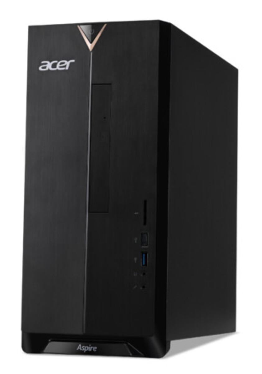 Bild 1 von ACER Aspire TC-886 schwarz Desktop-PC (i5-9400F, 8 GB RAM, 1 TB HDD + 512 GB SSD, GeForce GTX 1650, Windows 10 Home)