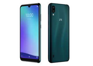 ZTE Blade A5 2020 dark green Smartphone (6 Zoll, 32 GB, 13 MP + 2 MP, Dual-Kamera, 3.200-mAh, Octa-Core, dunkelgrün)