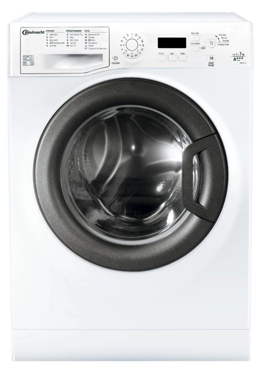 Bild 1 von BAUKNECHT FWM 7F4 Waschmaschine (7 kg, 1400 U/min., A+++, Wolle, Anti-Allergie)