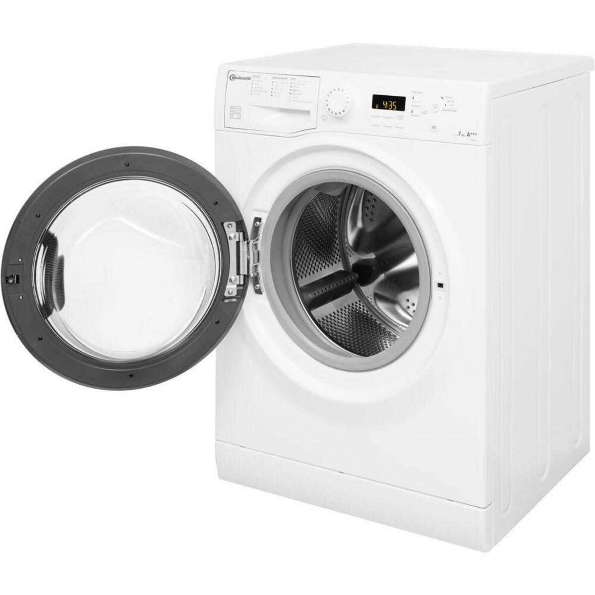 Bild 3 von BAUKNECHT FWM 7F4 Waschmaschine (7 kg, 1400 U/min., A+++, Wolle, Anti-Allergie)