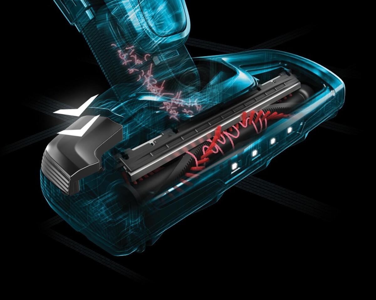 Bild 4 von AEG CX7-2-S360 Akku-Handstaubsauger mit Stiel (kabellos, beutellos, 2-in-1, Lithium HD Power Akku, 0,5 Liter Staubbehältervolumen, 180°-EasySteer™-Manövrierbarkeit, Deep Clean)