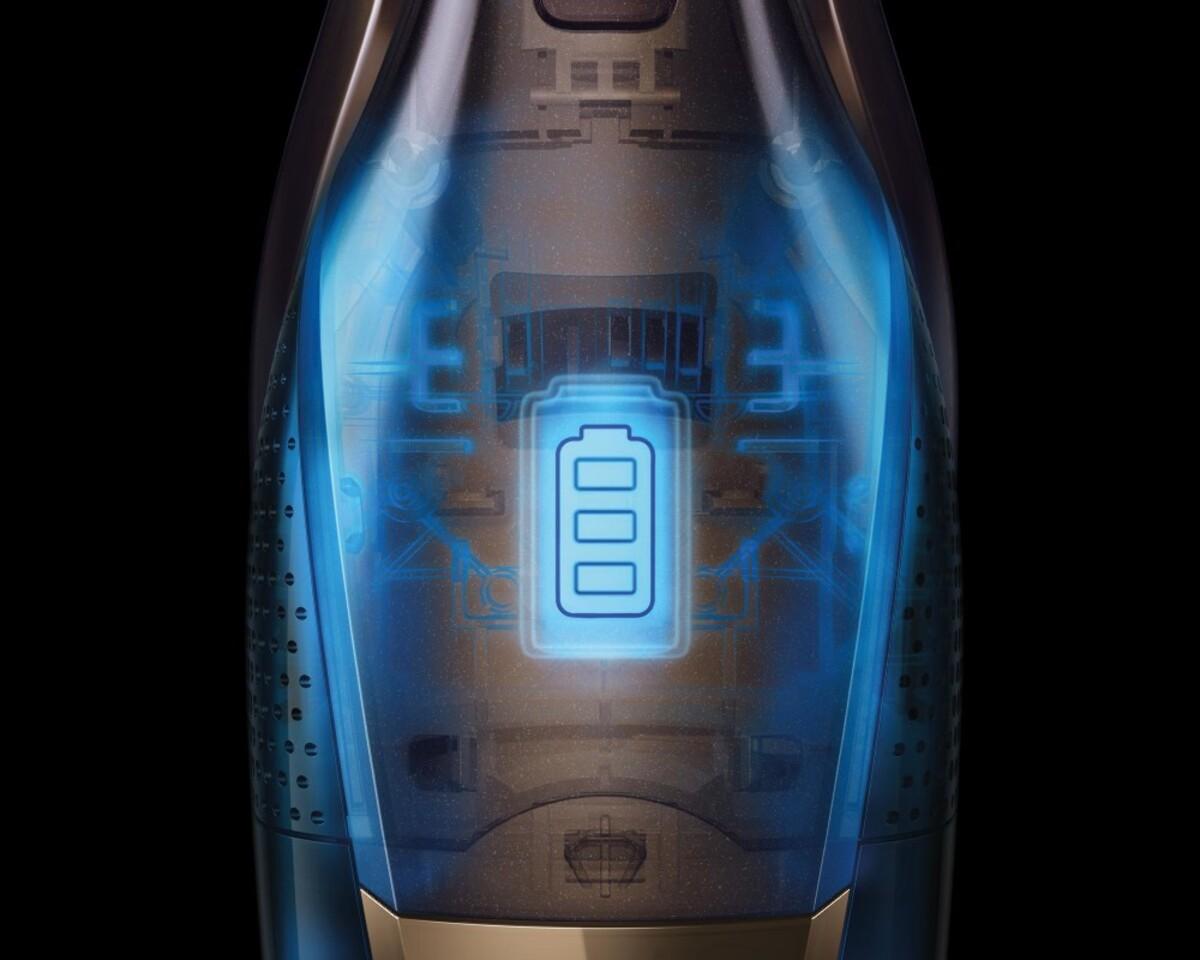 Bild 5 von AEG CX7-2-S360 Akku-Handstaubsauger mit Stiel (kabellos, beutellos, 2-in-1, Lithium HD Power Akku, 0,5 Liter Staubbehältervolumen, 180°-EasySteer™-Manövrierbarkeit, Deep Clean)