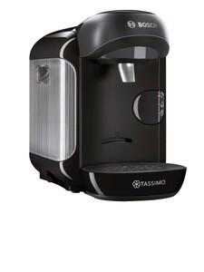 BOSCH Kapselmaschine TASSIMO VIVIY TAS12A2 (Tassimo, 0,7 Liter Wassertank, Ein-Knopf-Bedienung, Barcode-Technologie, schwarz)