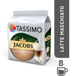 TASSIMO Jacobs Typ Latte Macchiato Classico  T Discs (für 8 Tassen à 280 ml)