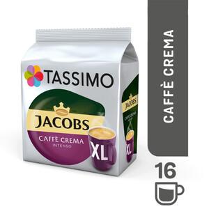 TASSIMO Jacobs Caffè Crema Intenso XL T Discs (für 16 Tassen)