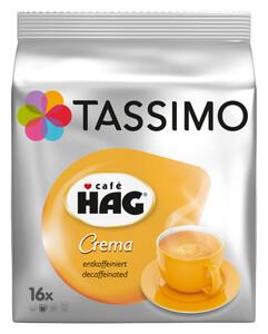 TASSIMO Café Hag Crema entkoffeiniert T Discs (für 16 Tassen)