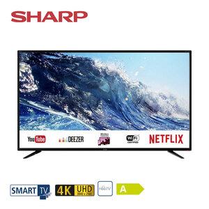 49BJ2E • 3 x HDMI, 3 x USB, SD-Kartenslot, CI+ • integr. Kabel-, Sat- und DVB-T2-Receiver • Maße: H 63,7 x B 110,3 x T 8,3 cm • Energie-Effizienz A (Spektrum A++ bis E) • Bildschirmdiagona